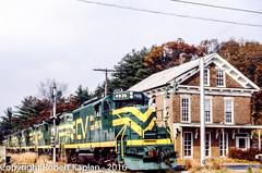 234, S. Windham, CT, 10-1984 (Rkap10) Tags: railroad other connecticut places albums centralvermont railroadslidescans