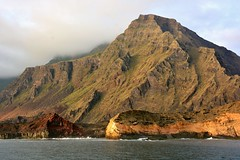 """""""From great oceans do volcanic islands appear"""" - rock face of a western Island in the Galapagos. (One more shot Rog) Tags: sea nature volcano scene cliffs galapagos volcanoes volcanicisland volcanic mountans mountainous thegalapagosislands thegalapagos rogersargentwildlifephotography"""