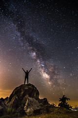 Welcome to the space (Vagelis Pikoulas) Tags: rock night canon way myself stars landscape star spring rocks europe long exposure view nightscape space may tokina greece universe milky selfshot selfie 6d 2016 1628mm