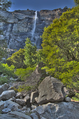 Tueeulala Falls, Hetch Hetchy, Yosemite National Park (Mastery of Maps) Tags: california park county ca nature water rock waterfall nationalpark spring rocks yosemite yosemitenationalpark flowing sierranevada tuolumne hetchhetchy 2016 tueeulalafalls recreationarea flowingwater