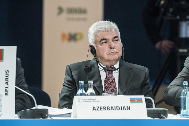 Ziya Mammadov at the Closed Ministerial Session