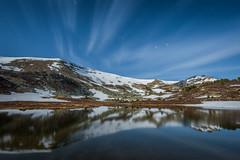 Paisaje a la luz de la luna I (Roberto_48) Tags: lago agua luna laguna montaa soria reflejos larga urbion