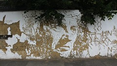 Vhils_1540 Clarkson street London (meuh1246) Tags: streetart london fleur londres bethnalgreen clarksonstreet vhils