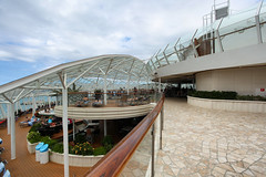 Solarium (Fionn Luk) Tags: trip travel cruise vacation canon landscape boat ship view royal scene adventure explore solarium 5d caribbean luk fionn allureoftheseas thefootprintdiary