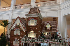 Gingerbread at Grand Floridian (krisjaus) Tags: disney gingerbreadhouse waltdisneyworld portorleansriverside fortwildernesslodge krisjaus thegrandfloridian richardatthegrandfloridian