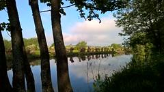 The River Thames, West Oxford UK. (James Holme) Tags: nokia unitedkingdom windowsmobile oxford theriverthames riverthames oxfordshire thamespath binsey mobilephotography osneybridge westoxford windowsphone8 nokialumia930