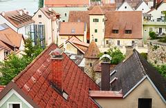 Roof Landscape - Dachlandschaft (macplatti) Tags: city history architecture austria roofs stadt dach obersterreich aut medivial schrding