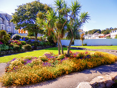 Ilfracombe, North Devon (photphobia) Tags: road park uk houses sky holiday building green gardens architecture buildings hotel vanishingpoint seaside outdoor perspective victorian runnymede ilfracombe northdevon oldwivestale victorianresort buildingsarebeautiful runnymedegardens