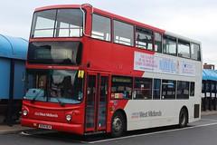 National Express West Midlands Transbus Trident 2/Transbus ALX400 4590 (BU04 BLN) (Wolverhampton) (john-s-91) Tags: dudley 4590 nationalexpresswestmidlands transbusalx400 transbustrident2 bu04bln wolverhamptonroute82 mammamiabirmingham