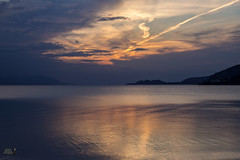 """          "". .  (theseustroizinian) Tags: sea seaside sunset seasunandclouds simplysuperb seascape sky sun landscape loutraki greece goldenhours greek hellas hellenic canoneos700d canon"