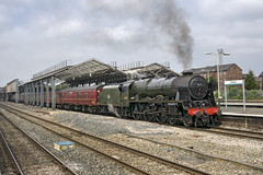 46115 (Geoff Griffiths Doncaster) Tags: cathedrals chester express scots guardsman 46115