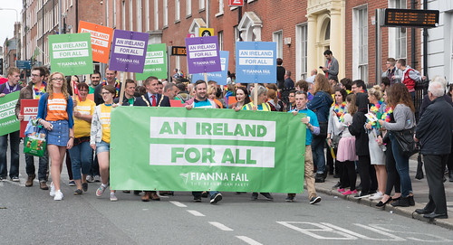 PRIDE PARADE AND FESTIVAL [DUBLIN 2016]-118129