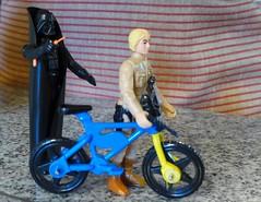 Be safe, son! (cyclotourist) Tags: starwars luke kenner darthvader skywalker