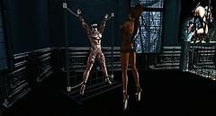 003 (djolyx) Tags: sexy fetish noir bdsm piercing sl secondlife rack plug mistress kinky slave sheer