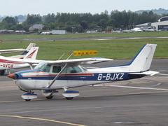 G-BJXZ Cessna Skyhawk 172 (Aircaft @ Gloucestershire Airport By James) Tags: james airport gloucestershire skyhawk cessna lloyds 172 egbj gbjxz