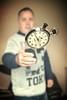 Stopwatch 10 (Glesgaloon) Tags: selfportrait photoshop trickphotography stopwatch blend selfie