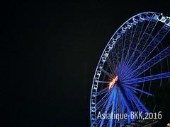 Giant Ferris Wheel beside the Riverfront (radi0head pix'el) Tags: bkk asiatique bangkok2016
