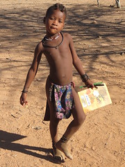 Posing (s_andreja) Tags: africa namibia kamanjab himba village kid