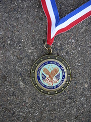 Veterans Affairs medallion - Dakota Sisterhood...