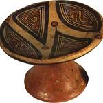 "<b>Pedastal Plate</b><br/> -Unknown- ""Pedestal Plate"" Earthenware, n.d.(Pre-Columbian) LFAC #566<a href=""http://farm8.static.flickr.com/7093/6896359528_cc04b50526_o.jpg"" title=""High res"">∝</a>"