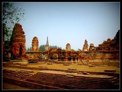 The Ayutthaya historical park ruins of the old city of Ayutthaya (P. Suesskind) Tags: landscape thailand kingdom goldenage siam ayutthaya oldcapital historictowns mygearandme mygearandmepremium mygearandmebronze mygearandmesilver mygearandmegold mygearandmeplatinum