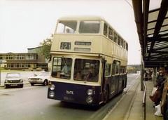 RDH104F - Walsall 1977 (Walsall1955) Tags: bus buses 321 104 daimler fleetline wct northerncounties ncme wmpte daimlerfleetline walsallcorporation westmidlandspte bradfordplace crg6lx walsallct walsallcorporationtransport 104l walsallbus rdh104f