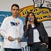Lucila Pinto e Marcos conduzem premiação da Novartis