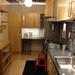 簡易的な家事室のあるイケアのキッチンの写真