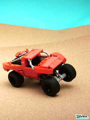 Trophy Truck (ZetoVince) Tags: red car truck greek desert lego offroad suspension vince racing vehicle trophy baja minifig prerunner zeto foitsop zetovince dreamdealer