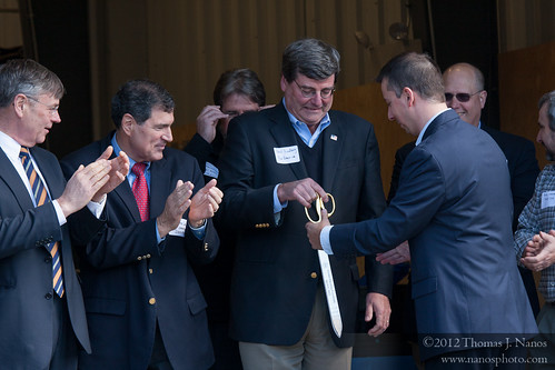 "Returning the scissors<br /><span style=""font-size:0.8em;"">CSOR GM James Bonner getting the scissors back.</span> • <a style=""font-size:0.8em;"" href=""http://www.flickr.com/photos/20365595@N04/7050765675/"" target=""_blank"">View on Flickr</a>"
