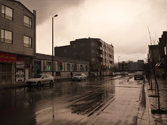(Pourikia) Tags: street rain iran ایران باران arak خیابان غربی اراک ابری مولوی