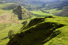Green hills (Keartona) Tags: uk england green english landscape spring derbyshire hills chrome edge fields parkhouse