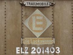 ELZ 201403 (Fan-T) Tags: el 40 trailer erie piggyback lackawanna elz trailmobile 201403