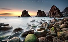Small islands (FredConcha) Tags: sunset islands nikon rocks d90 sigma1020 fredconcha