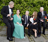 Dr Fin Breatnach, Doreen Smyth (Variety), Louis Walsh, Caroline Downey, Derek O'Neill Variety Children's Charity Humanitarian Awards Gala Dinner at The Burlington Hotel Dublin, Ireland