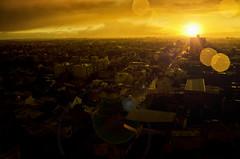 balcony view (Leandro Sabater) Tags: sunset argentina rain nikon day dusk mardelplata d7000