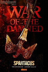 Poster spartacus war of the damned saison 3