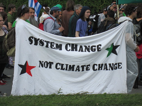 System Change Not Climate Change, From FlickrPhotos