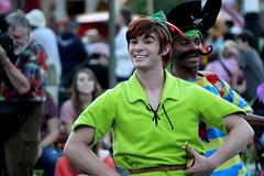 Peter Pan (ourdisneydays) Tags: disneyland peterpan disney lookalike facecharacter soundsational mickeyssoundsationalparade