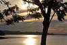 Quarta Pôr-do-Sol (Ruby Ferreira ®) Tags: sunset tree brasil dam silhouettes pôrdosol árvore silhuetas notreatment represabillingssp