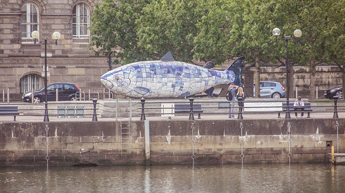 The Big Fish - Belfast (Artist: John Kindness)