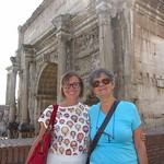 "Claudia and Heide at the Roman Forum <a style=""margin-left:10px; font-size:0.8em;"" href=""http://www.flickr.com/photos/14315427@N00/7186120113/"" target=""_blank"">@flickr</a>"