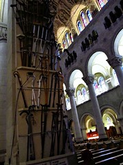St Anne Beaupre crutches (tvordj) Tags: wood quebec churches cathedrals arches saintannedebeaupre