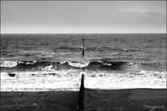 Cold NE'erly_MG_9694 (HJSP82) Tags: sea beach waves wind beacon groyne breaker breakwater