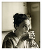Annie Clark (St. Vincent) (oscarinn) Tags: portrait blackandwhite music blancoynegro rock mexico tea retrato maker stvincent annieclark