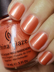 thataway, china glaze (nails@mands) Tags: orange laranja nagellack polish nails nailpolish unhas thataway metlico vernis esmalte smalto naillacquer verniz chinaglaze