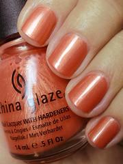 thataway, china glaze (nails@mands) Tags: orange laranja nagellack polish nails nailpolish unhas thataway metálico vernis esmalte smalto naillacquer verniz chinaglaze