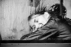 The Smile (Brînzei) Tags: bucurești crângași m42 meyeroptikgörlitzorestegor200mmf4 bw candid girls manualfocus people rain smile trams windows ★ canoneos400d meyeroptik explored blackandwhite