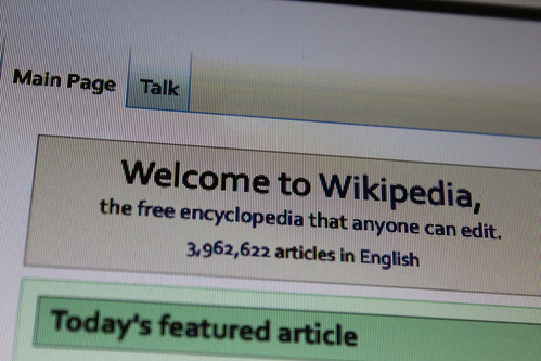 Welcome to Wikipedia, From FlickrPhotos