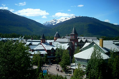 Whistler BC (rschnaible) Tags: winter summer mountain canada whistler village bc britishcolumbia olympic smalltown olympicvillage westerncanada mygearandme mygearandmepremium